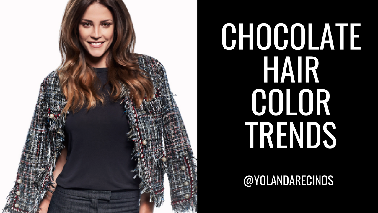 Chocolate Hair Color Trends