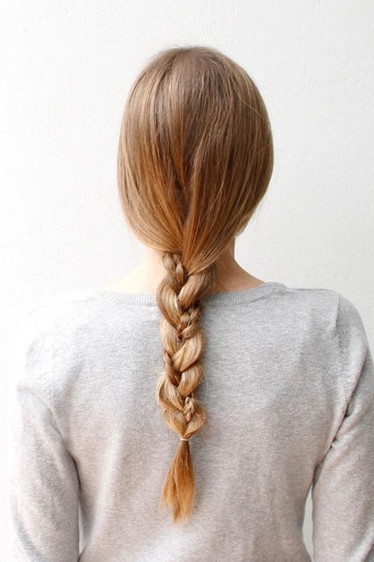 gym hair braid