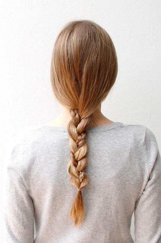 gym hair braid