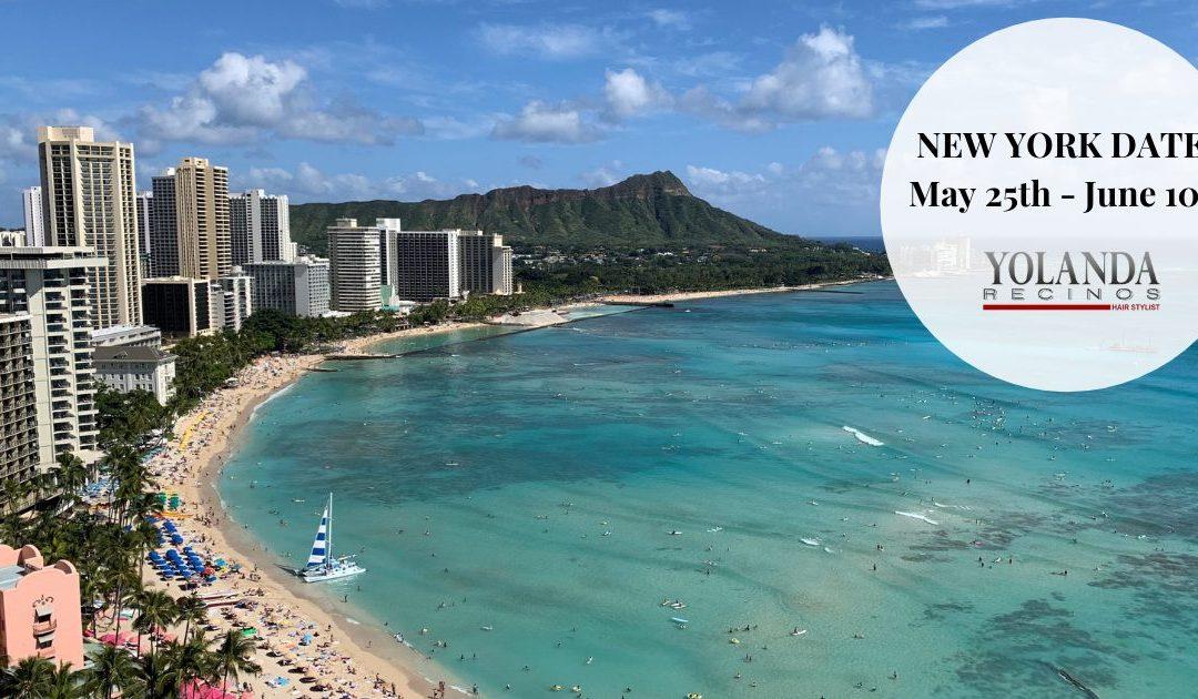 Aloha! – New York Dates!